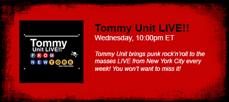 Tommy Unit LIVE!!