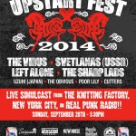 UPSTART FEST 2014 LIVE SIMULCAST ON REAL PUNK RADIO!